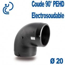 Coude 90° Electrosoudable Ø20