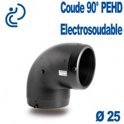 Coude 90° Electrosoudable Ø25