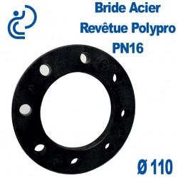Bride Acier Revêtue Polypropylène Ø110