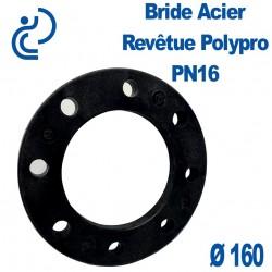 Bride Acier Revêtue Polypropylène Ø160