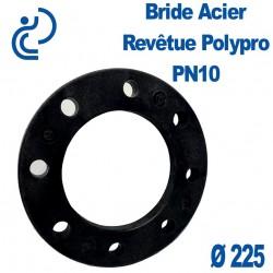 Bride Acier Revêtue Polypropylène Ø225