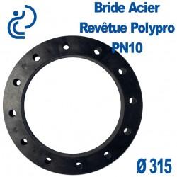 Bride Acier Revêtue Polypropylène Ø315