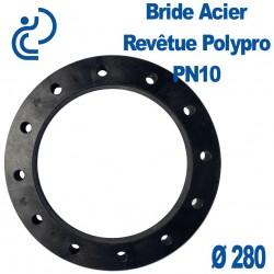 Bride Acier Revêtue Polypropylène Ø280