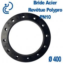 Bride Acier Revêtue Polypropylène Ø400
