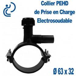 Collier de Prise en Charge PEHD Electrosoudable Ø63 x 32