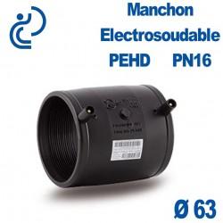Manchon Electrosoudable Ø63