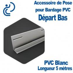 Profile de Départ Bas pour Bardage PVC longueur 5ml