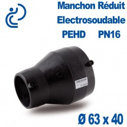 Réduction PEHD Electrosoudable Ø63 x 40