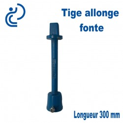 Tige Allonge fonte longueur 300mm