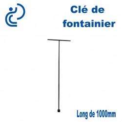 Clé de fontainier longueur 1000mm