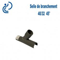 Selle de Branchement 40x32 à 45° PVC à coller