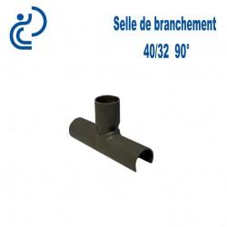 Selle de Branchement 40x32 à 90° PVC à coller