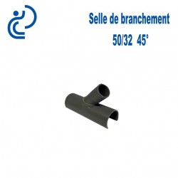 Selle de Branchement 50x32 à 45° PVC à coller