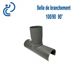 Selle de Branchement 100x90 à 90° PVC à coller