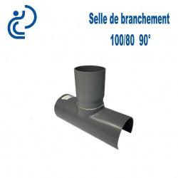 Selle de Branchement 100x80 à 90° PVC à coller