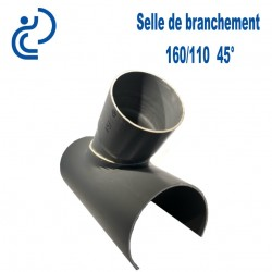 Selle de Branchement 160x110 à 45° PVC à coller