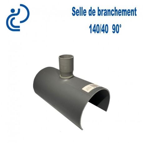 Selle de Branchement 140x40 à 90° PVC à coller