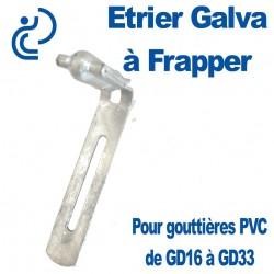 Etrier Galva à Frapper pour Gouttières