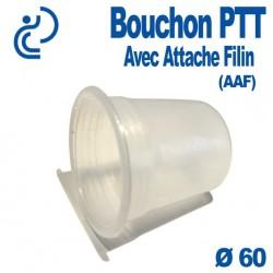 Bouchon PTT Avec Attache Filin (AAF) pour gaine PVC Ø60