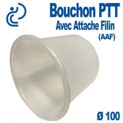Bouchon PTT Avec Attache Filin (AAF) pour gaine PVC Ø100