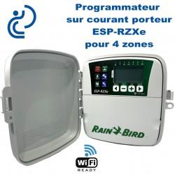Programmateur d'arrosage 4 Zones sur Courant Porteur ESP-RZXe Wifi Ready