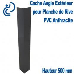 CACHE ANGLE EXT ANTHRACITE H300 pour planche de rive