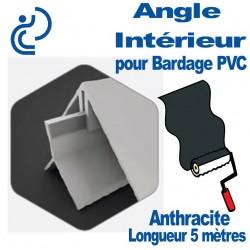 Angle Intérieur ton Coordonné Pour bardage Anthracite longueur 5ml