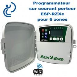 Programmateur d'arrosage 6 Zones sur Courant Porteur ESP-RZXe Wifi Ready