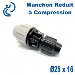 Manchon Réduit à Compression D25 x 16