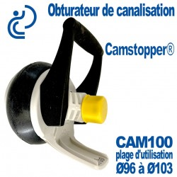 Obturateur de Canalisation Mécanique à Came Ø100 CAMSTOPPER®