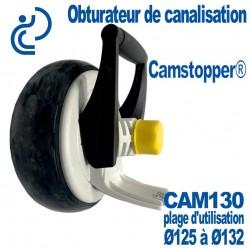 Obturateur de Canalisation Mécanique à Came Ø130 CAMSTOPPER®