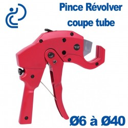 Pince Revolver Coupe Tube PVC Ø6 à Ø42 mm