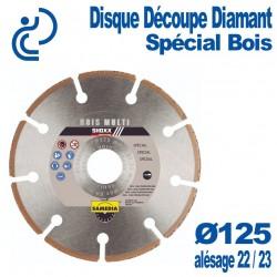 Disque Diamant Spécial Bois D125
