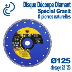 Disque Diamant Pour Granit & Pierre naturelle D125