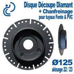 Disque Diamant Spécial PVC D125