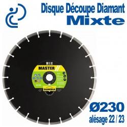 Disque Diamant Découpe Mixte