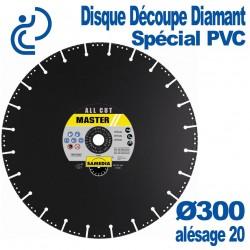 Disque Diamant Spécial PVC Ø300