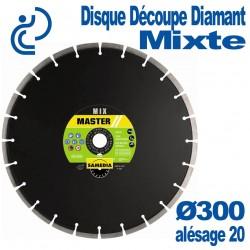 Disque Diamant Découpe Mixte Ø300 al20