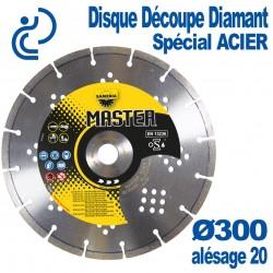 Disque Découpe Diamant Spécial Acier Ø300 al20