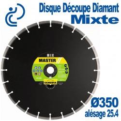 Disque Diamant Découpe Mixte Ø350 al25.4