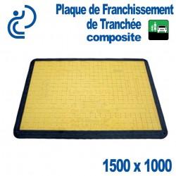 Plaque de Franchissement de Tranchée Composite 1500X1000 avec Grip