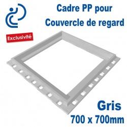 CADRE PP POUR COUVERCLE DE REGARD 70x70 GRIS