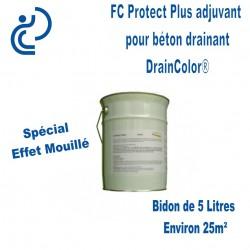 Bidon FC PROTECT adjuvant pour Béton Drainant DRAINCOLOR