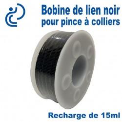 Bobine de Lien Noir Pour Pince A Collier STYL SNAF