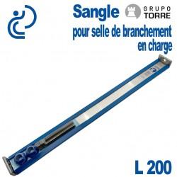 Sangle Spéciale TORRE L200 pour pose de Selles CEDEC, GIGA & GOLF
