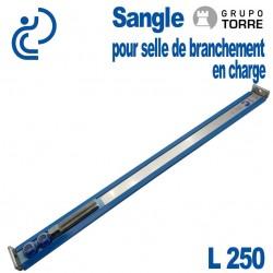 Sangle Spéciale TORRE L250 pour pose de Selles CEDEC, GIGA & GOLF