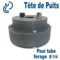 Tête de Puits en PVC Ø114 pour Pompe de Forage Immergée