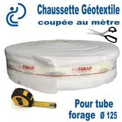 Chaussette Géotextile Pour Tube Forage Ø125 Coupée au Mètre