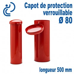 Capot de Protection Cadenassable D80 longueur 500