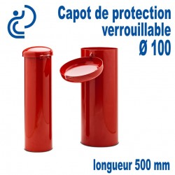 Capot de Protection Cadenassable D100 longueur 500